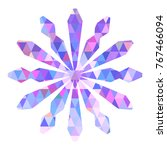 color snowflake for christmas... | Shutterstock .eps vector #767466094