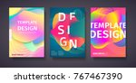 template for the design of... | Shutterstock .eps vector #767467390