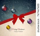 christmas celebration...   Shutterstock .eps vector #767467600