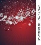 christmas celebration...   Shutterstock .eps vector #767467624
