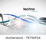 technology web background... | Shutterstock .eps vector #76746916