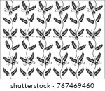 floral decorative vector... | Shutterstock .eps vector #767469460