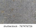 the road is paved with granite...   Shutterstock . vector #767476726