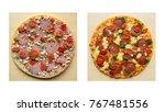 "Frozen Pizza ""salami Mozzarella ..."