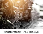 car engine part  concept of... | Shutterstock . vector #767486668