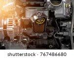 car engine part  concept of...   Shutterstock . vector #767486680