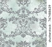 vector illustration. damask... | Shutterstock .eps vector #767488639