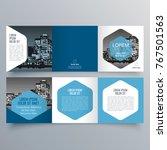 brochure design  brochure...   Shutterstock .eps vector #767501563