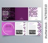 brochure design  brochure... | Shutterstock .eps vector #767503510