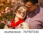 romance  beautiful relationship ... | Shutterstock . vector #767507233