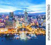 ho chi minh  vietnam dec 01...   Shutterstock . vector #767507860