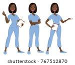 nurse avatar   vector   clip...   Shutterstock .eps vector #767512870