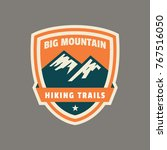 mountain badge and logo patch | Shutterstock .eps vector #767516050