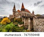 corvin castle in hunedoara ...   Shutterstock . vector #767550448