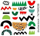 design for poster  card ... | Shutterstock .eps vector #767589238
