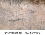 old grungy concrete wall... | Shutterstock . vector #767589499
