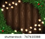 holidays background with... | Shutterstock .eps vector #767610388