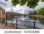 Pathway Along The Binnenhof...