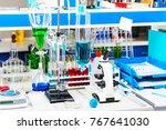 hemistry development  medicine ... | Shutterstock . vector #767641030