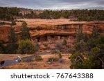 mesa verde national park.... | Shutterstock . vector #767643388