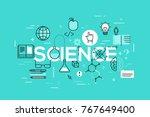 creative infographic banner... | Shutterstock .eps vector #767649400