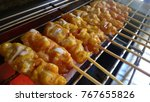 pork satay thai | Shutterstock . vector #767655826