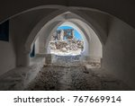 view of astypalaia's castle...   Shutterstock . vector #767669914