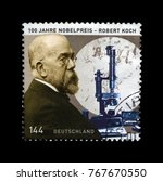 germany   circa 2005  stamp... | Shutterstock . vector #767670550