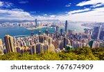 Amazing View On Hong Kong City...