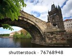 View Of The Charles Bridge In...