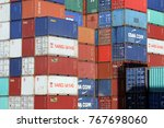 hamburg  germany   october 1 ... | Shutterstock . vector #767698060