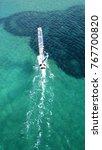 aerial drone bird's eye view of ...   Shutterstock . vector #767700820