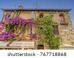 building in the old town area... | Shutterstock . vector #767718868