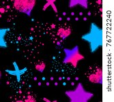 Abstract Seamless Magic Patter...