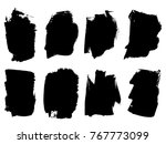 collection or set of artistic...   Shutterstock . vector #767773099