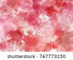 abstract red flame scarlet... | Shutterstock . vector #767773150
