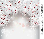 abstract beauty christmas and...   Shutterstock .eps vector #767781088