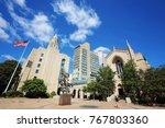 boston  usa   17of october 2017 ... | Shutterstock . vector #767803360