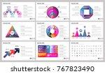 modern elements of infographics ... | Shutterstock .eps vector #767823490