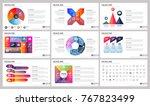 modern elements of infographics ... | Shutterstock .eps vector #767823499