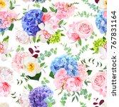 delicate seamless vector design ... | Shutterstock .eps vector #767831164