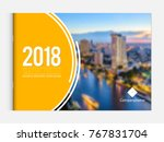 business brochure cover design... | Shutterstock .eps vector #767831704