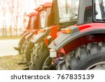 equipment for agriculture ... | Shutterstock . vector #767835139
