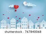 illustrations of love and... | Shutterstock .eps vector #767840068
