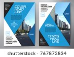 business brochure. flyer design.... | Shutterstock .eps vector #767872834