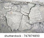 crack concrete texture... | Shutterstock . vector #767874850