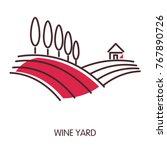 Wine Yard Promotional Emblem...