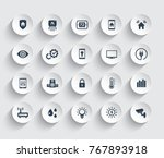 smart house automation system... | Shutterstock .eps vector #767893918