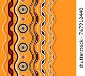 ethnic seamless pattern.... | Shutterstock .eps vector #767912440