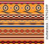 ethnic seamless pattern.... | Shutterstock .eps vector #767912449